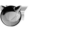 Logo Debian cinza