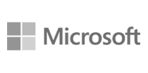 Logo Microsoft Cinza